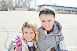 Family First. Beyond the many multi-child families that choose Good Shepherd for their children's education, the school's tight-knit atmosphere and small class sizes helps foster a true sense of community.